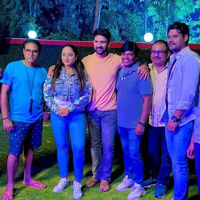 Babul Ki Galiya Bhojpuri Movie shooting