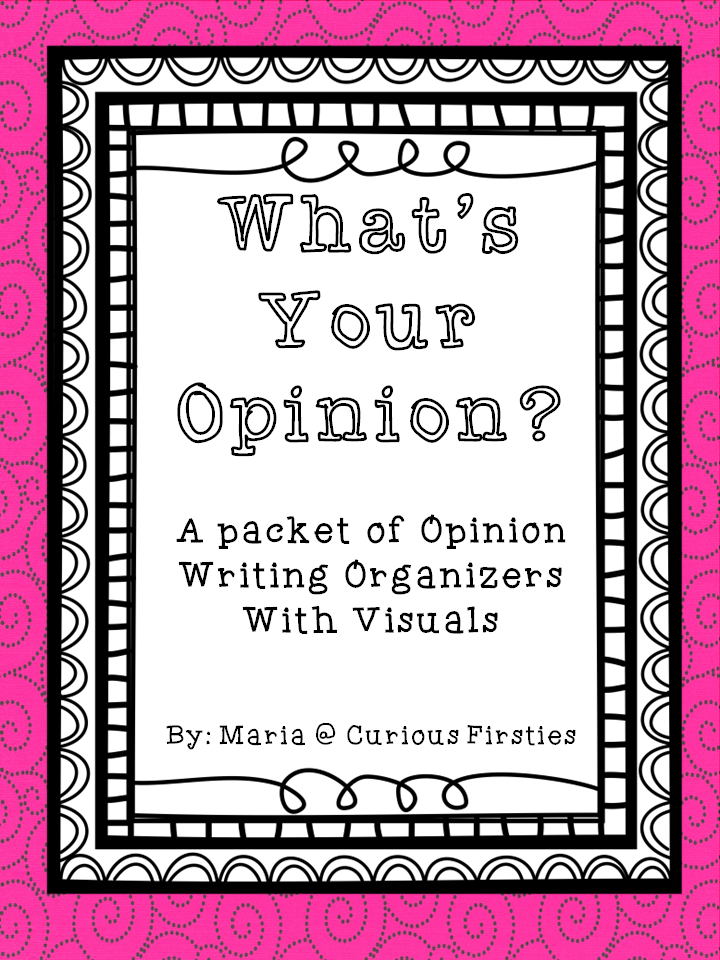 http://www.teacherspayteachers.com/Product/Whats-Your-Opinion-1272545
