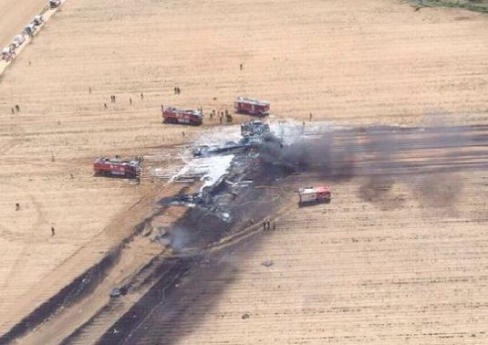 Airbus A400M Crash Site