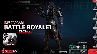 Nuevo Battle Royale? Descargar Disorder para PC Gratis