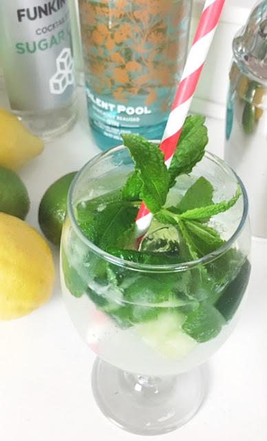 Silent Pool Gin Garden Cocktail