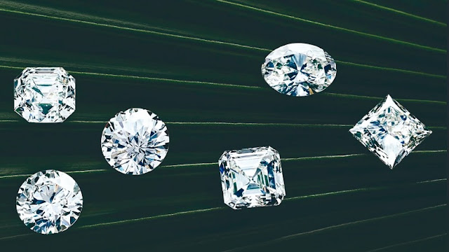 Estos diamantes fueron creados por el hombre