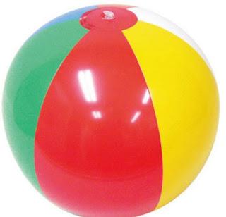 Permainan Anak Saat Wisata | Memainkan Bola