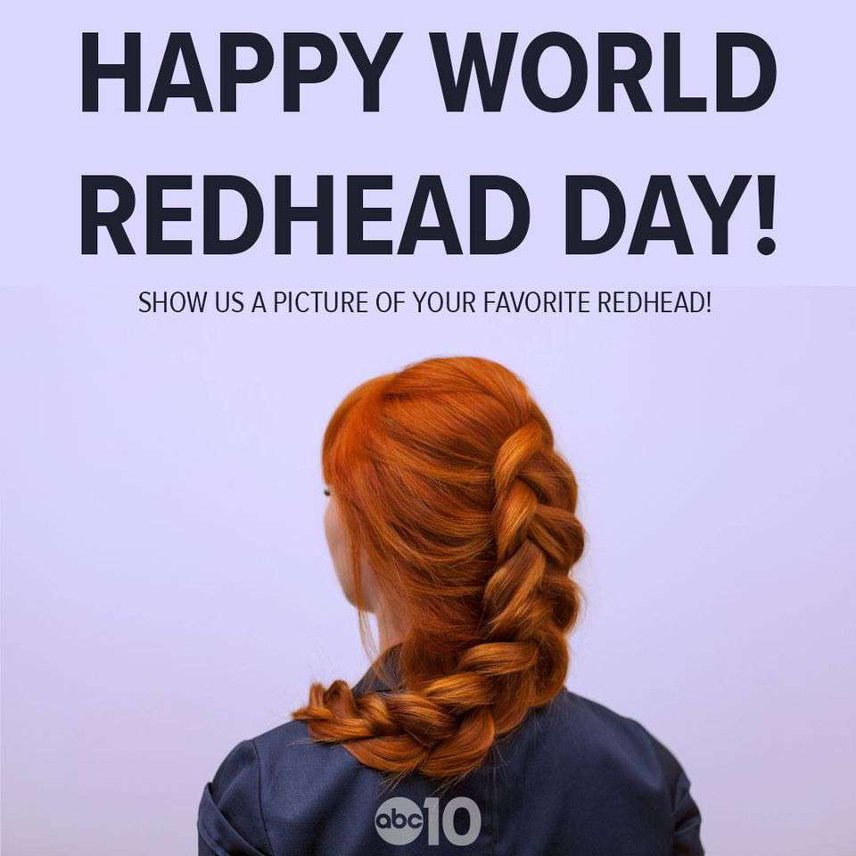 National Redhead Day Wishes Images