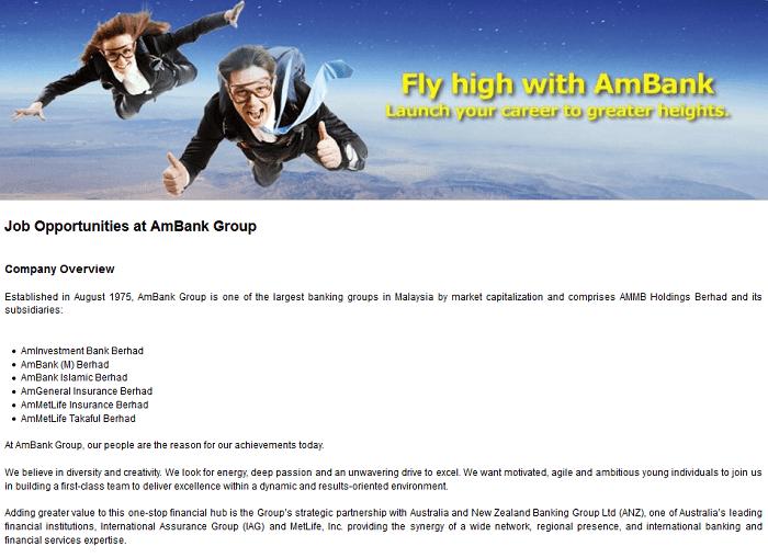 Jawatan kosong AmBank