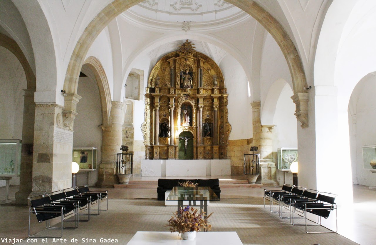 iglesia de san Pedro de Saldaña La Olmeda