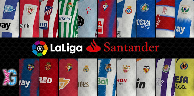 PES 2020 La Liga Kits and Press Rooms 19/20 Season