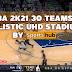 NBA 2K21 30 TEAMS UHD REALISTIC STADIUM BY SPORTSHUB