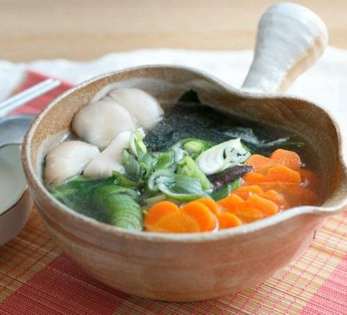 Cách nấu canh kiểm chay béo ngậy vị nước cốt dừa