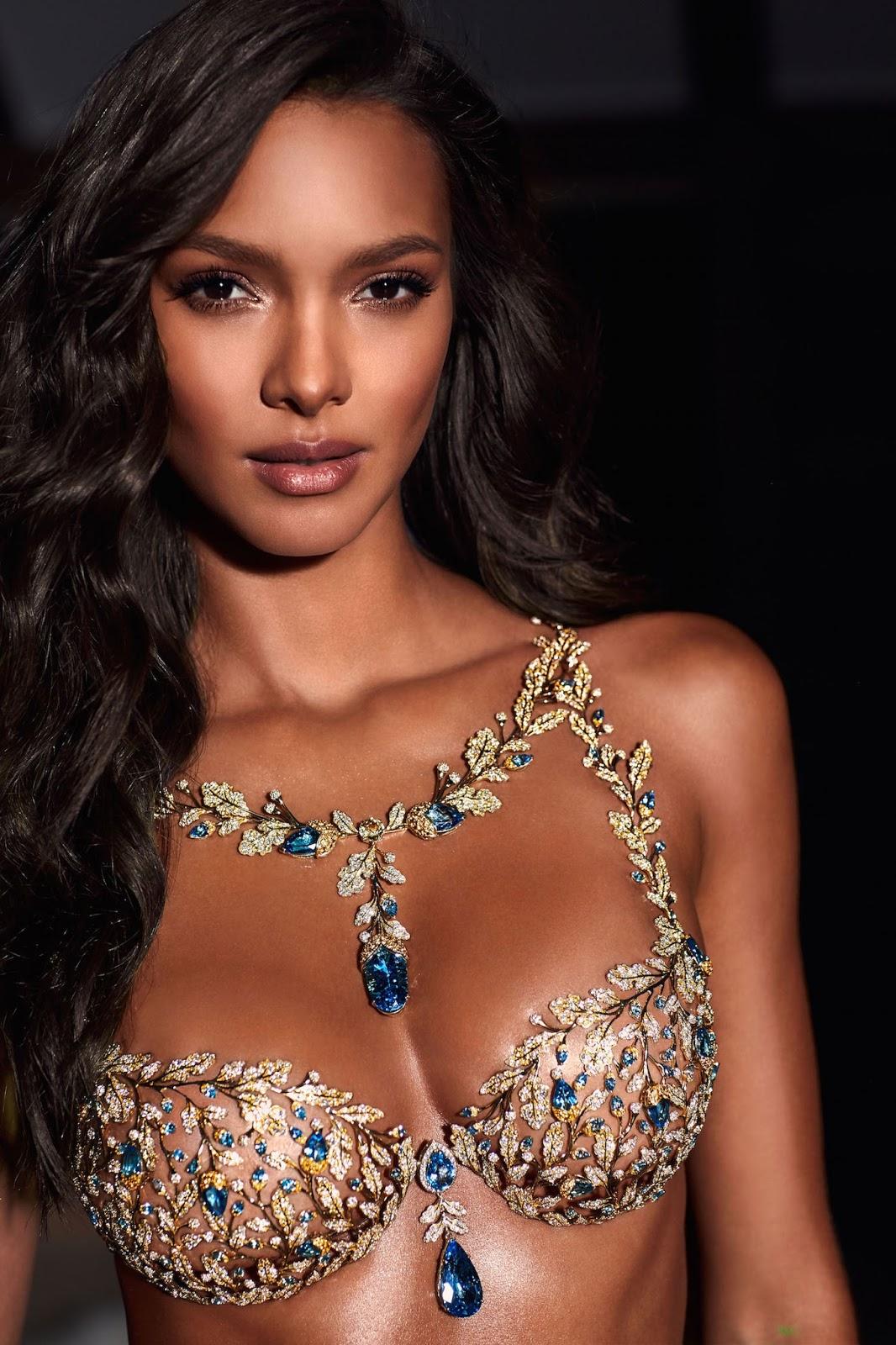 Lais Ribeiro to wear the $2 Million Victoria's Secret 2017 Fantasy Bra