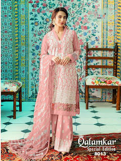 Shree Fab Qalamkar Special Edition Pakistani Suits Wholesaler
