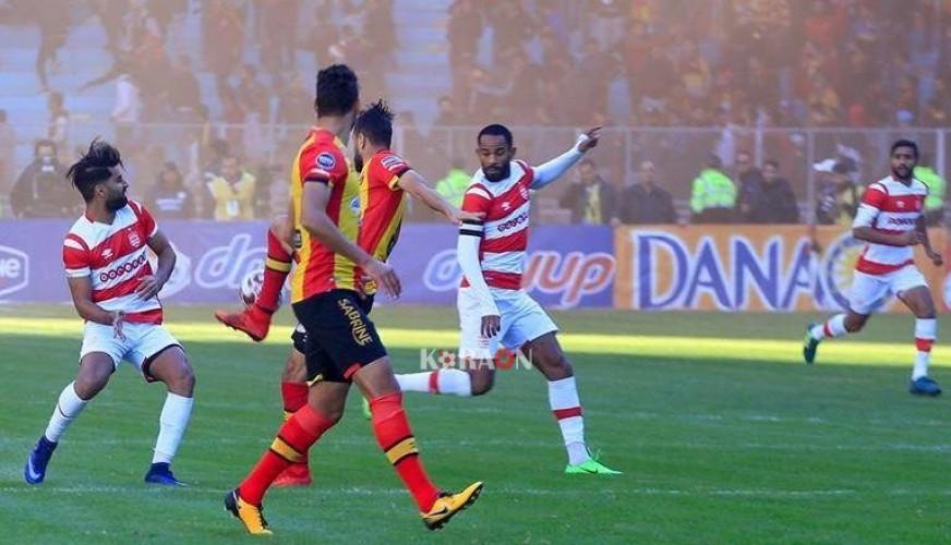 نتيجة مباراة الترجي التونسي والنادي الإفريقي بتاريخ 19-01-2020 الرابطة التونسية لكرة القدم