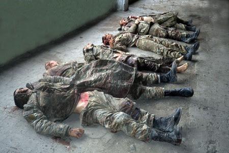 Azerbaiyán entrega muertos armenios decapitados