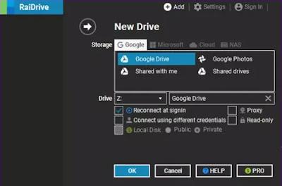 Cara Menggunakan Google Drive sebagai Server FTP atau Network Drive-3