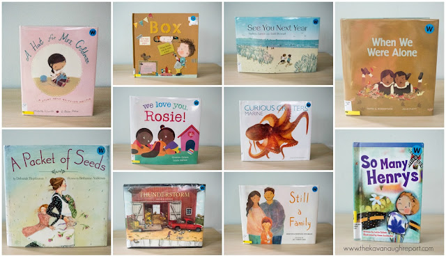 What we're reading -- June. Montessori friendly books for children.