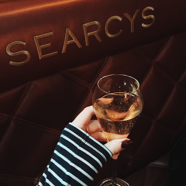 Searcy's champagne bar St Pancras