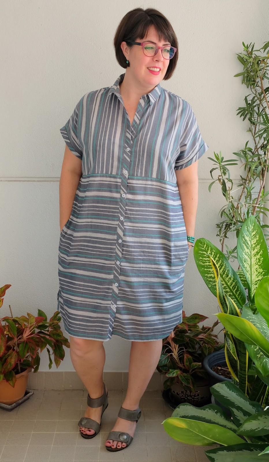 d4fdd0e4495 Cookin    Craftin   Style Arc Blaire Shirt Dress