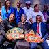 Anthony Joshua Present His Heavyweight Belts To Buhari In UK (Photo)