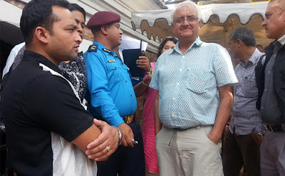 journalist and human right activist kanak mani dixit arrested