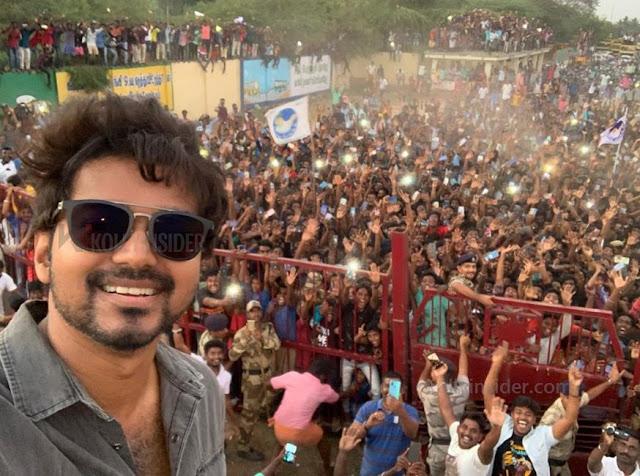 Vijay's Neyveli selfie