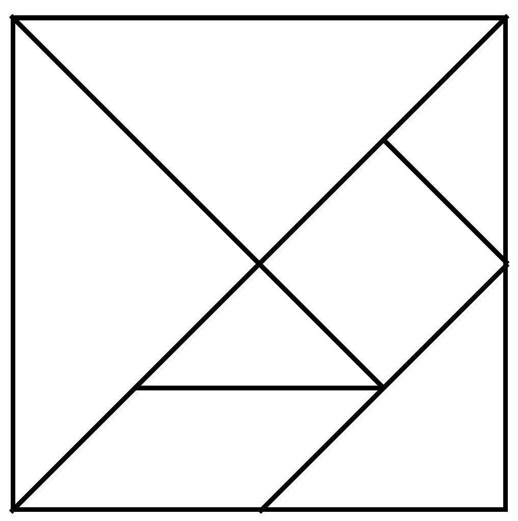 Exceptional image regarding printable tangram