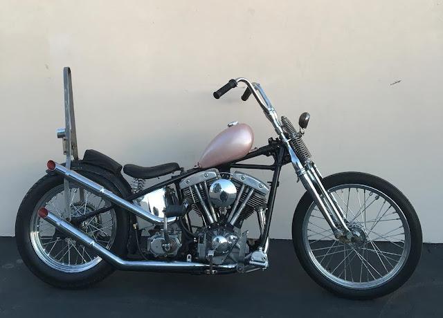 Harley Davidson Shovelhead By Junior's Hand Made Hell Kustom