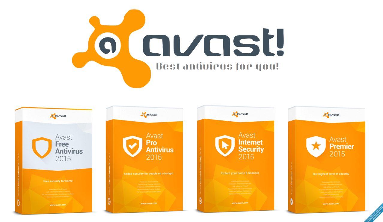 Avast Antivirus Free, Premier, Internet Security Free