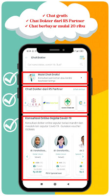 Chat dokter gratis