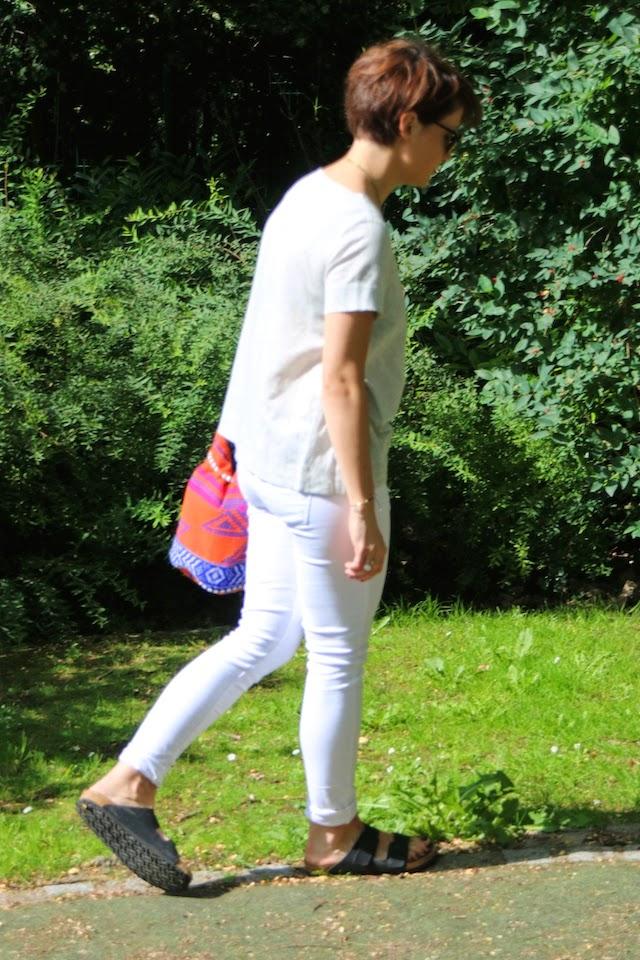 cos, zara, slim blanc, birkenstock, club master, blog mode lille, fashion blogger, juste juliette