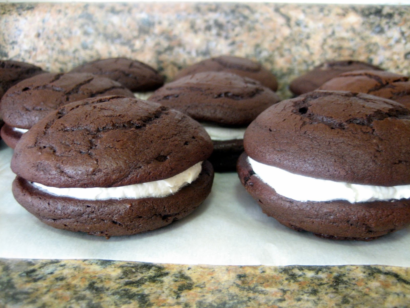 Baking, domesticity, and all things mini: Chocolate gobs