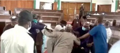(Video) Assembly Members Fight Dirty, Tear Clothes Over Deputy Speaker's Impeachment