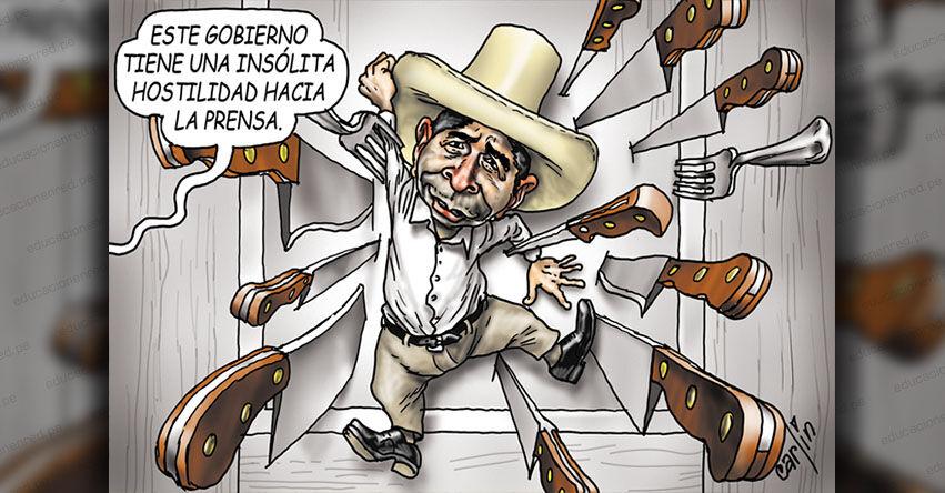 Carlincaturas Domingo 26 Septiembre 2021 - La República