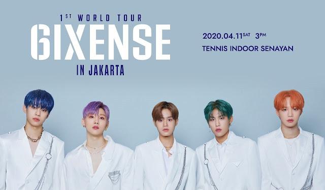 AB6IX Akan Gelar Konser di Jakarta, Intip Harga Tiket dan Seatplannya!