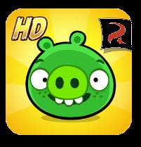 تحميل لعبة الالغاز Bad Piggies HD مهكرة للاندرويد