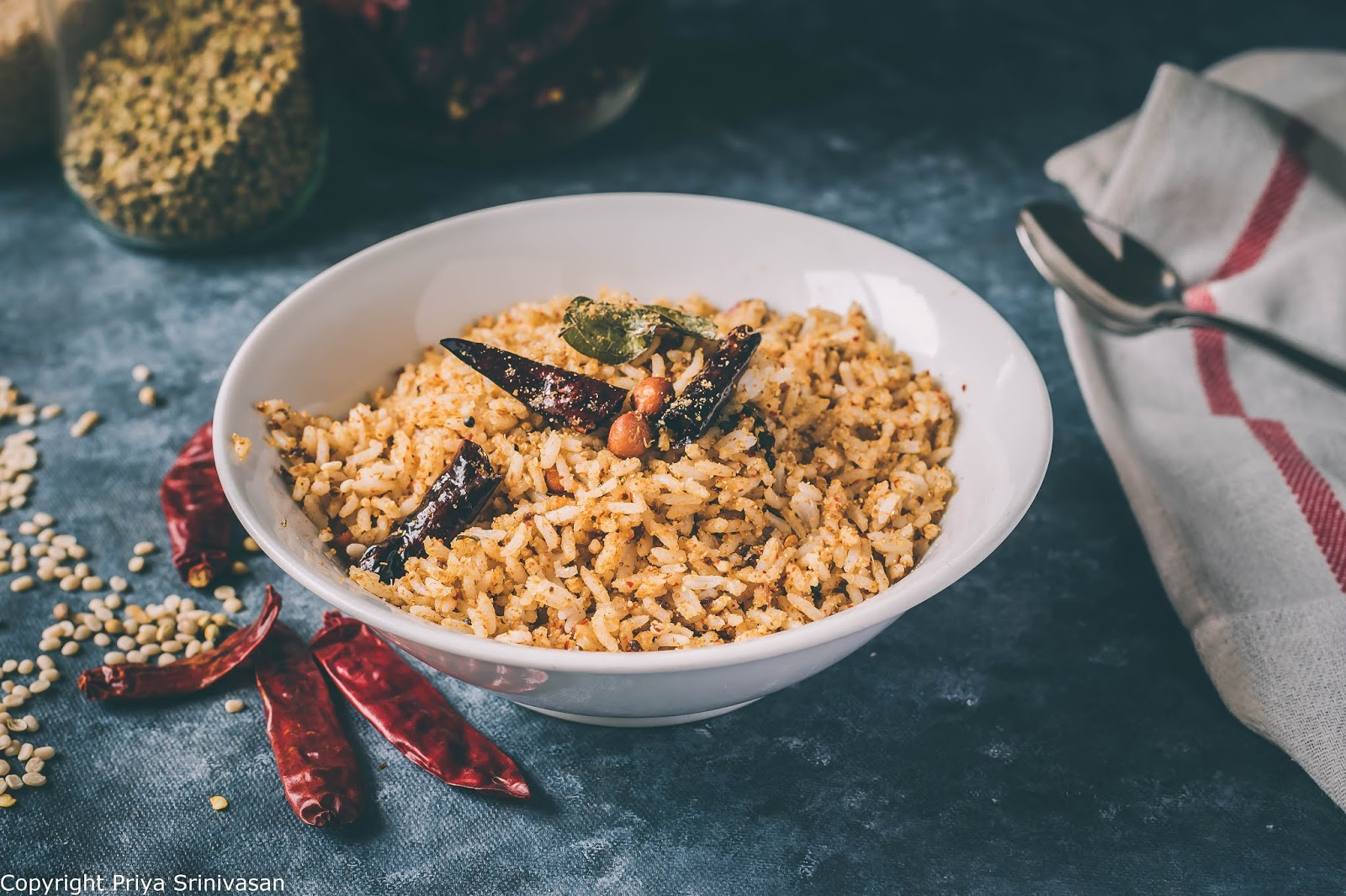 Mixed rice lunch recipe