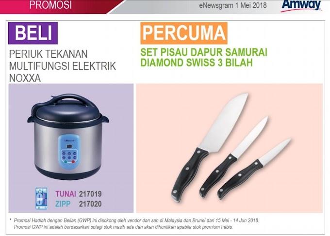 Promosi Bulan May 2018 :: Pressure Cooker Noxxa