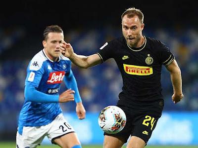 """Video Napoli 1-1 Inter Milan: Sửng sốt """"gáo nước lạnh"""", hẹn đấu Juventus"""