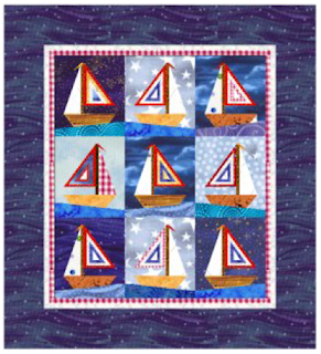 Quilt Inspiration: Free Pattern Day: Sailboats : sailboat quilt pattern - Adamdwight.com