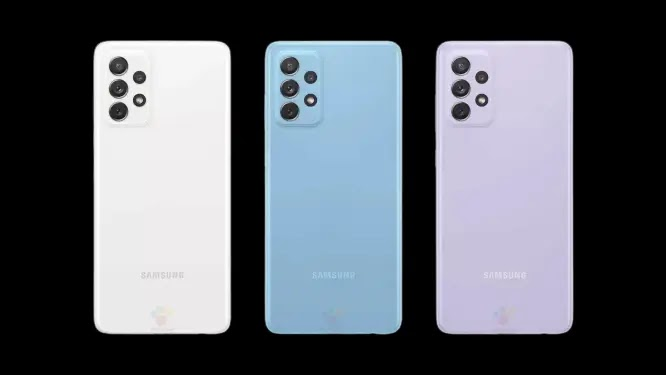 Samsung Galaxy A72 4G Renders and Full Specs Leak