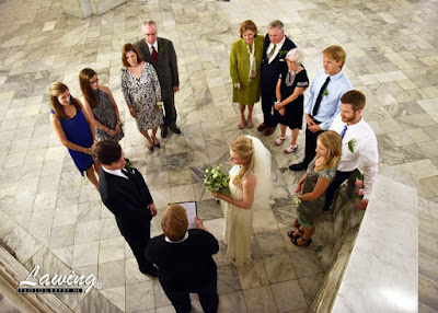 St Louis City Hall Elopement ceremony