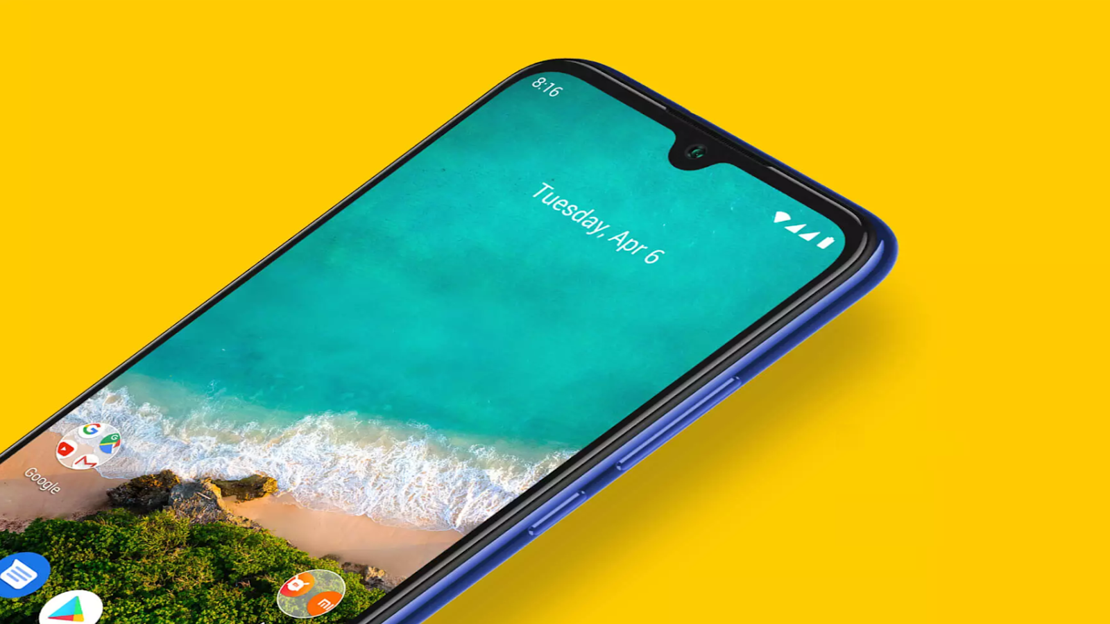 Xiaomi Mi A3 With Android One and Splash Proof Design