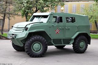 Kendaraan Taktis untuk Pasukan Linud Rusia
