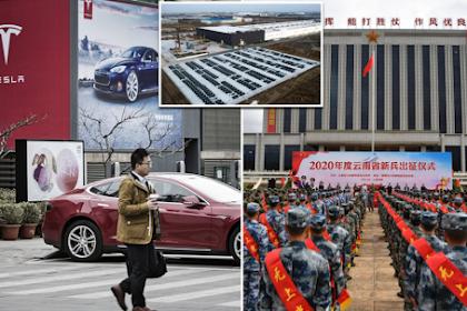 Karena Alasan Kamera, Tesla Dilarang Masuk Di Area Militer China