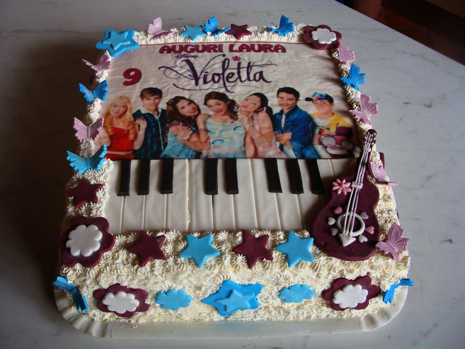 Torta Compleanno Violetta.Le Torte Di Aneta Il Compleanno Violetta