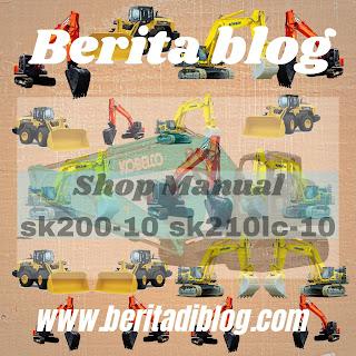 Sk200-10 sk210lc-10 kobelco excavator shop manual