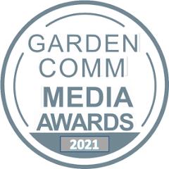 GardenComm Media Awards Silver Medal of Achievement for Garden Communications