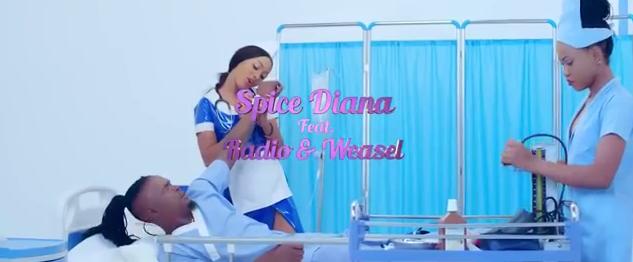 Spice Diana Ft Radio & Weasel - Kyuma Video