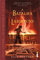 Resenha, Percy Jackson, A Batalha do Labirinto