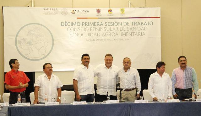 Preside Yucatán Consejo Peninsular de Sanidad e Inocuidad Agroalimentaria