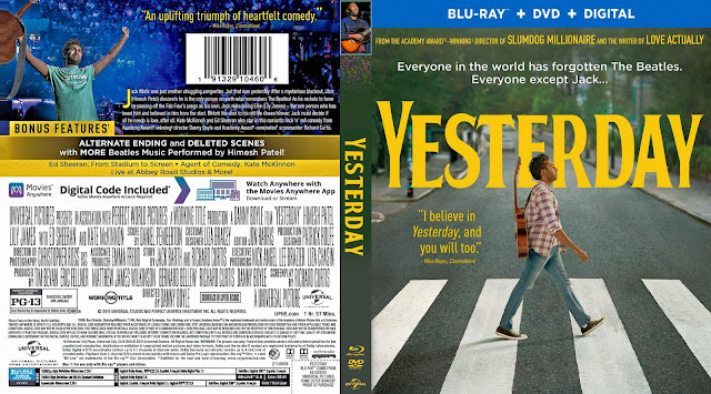 Yesterday Bluray Cover